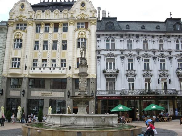 Piazza principale Bratislava