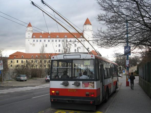 Mezzi pubblici Bratislava