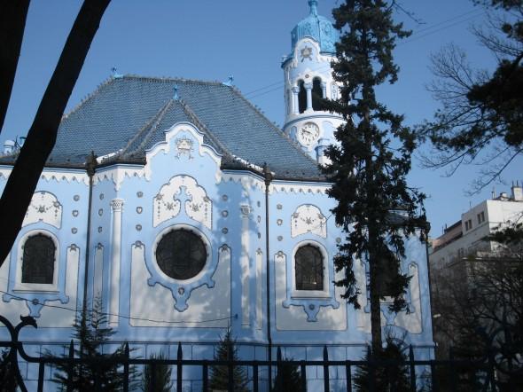 chiesa blu Bratislava