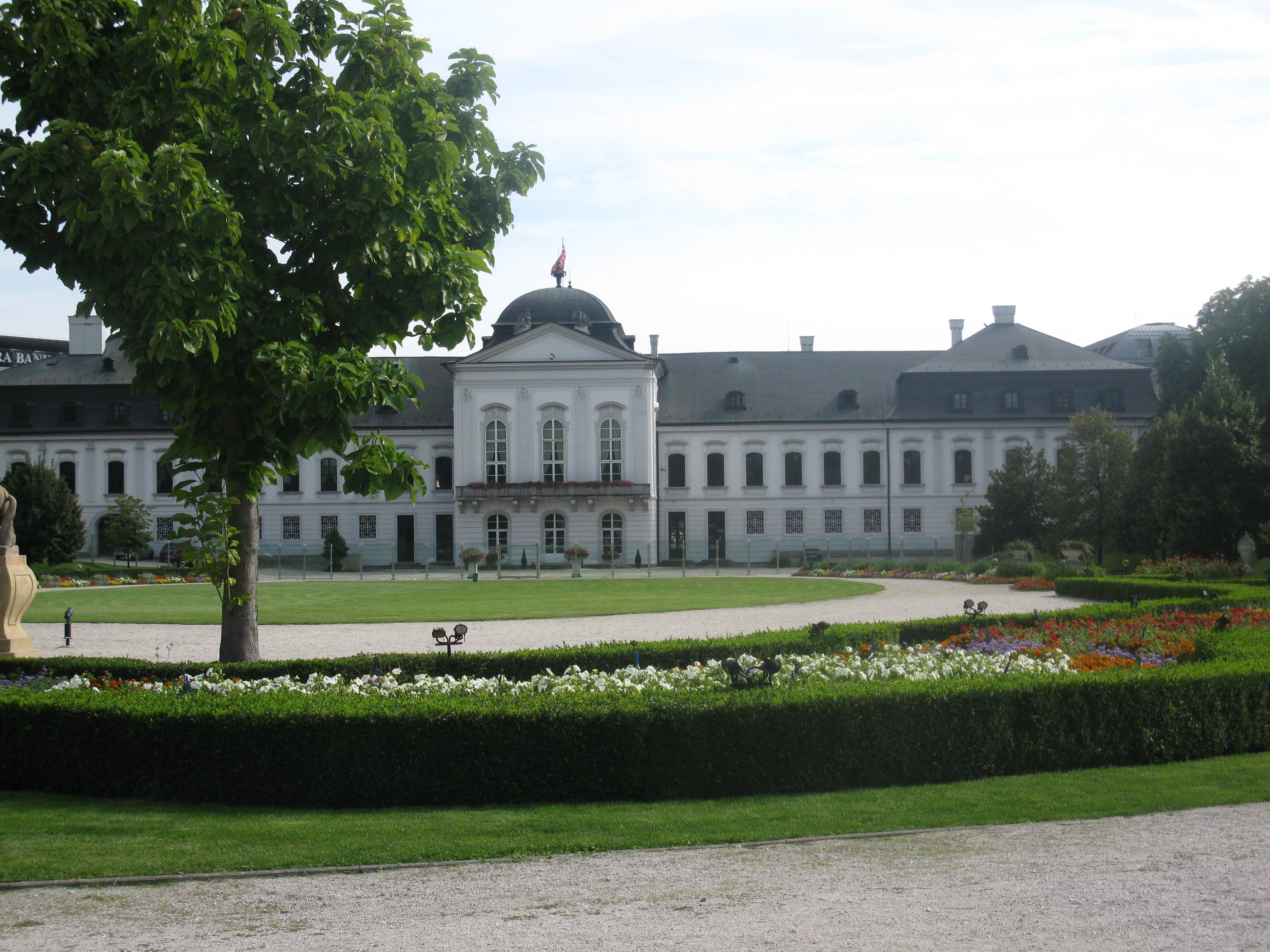 I giardini di palazzo grassalkovich tutto bratislava - I giardini di palazzo rucellai ...